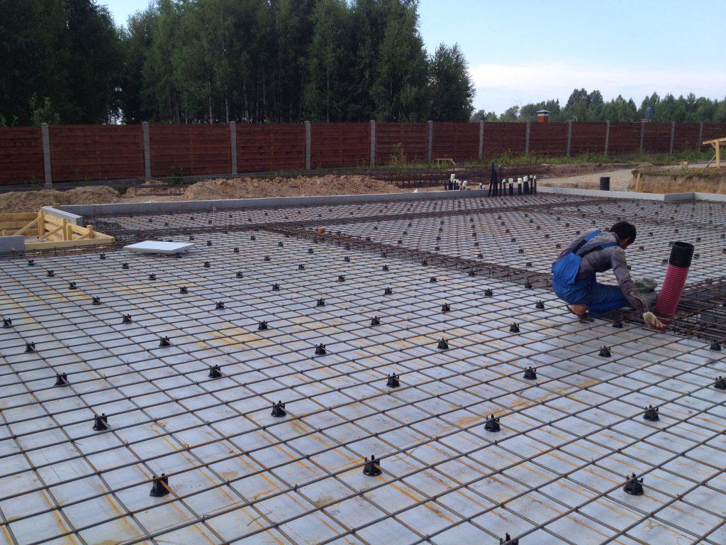 14Армирование фундаментной плиты14
