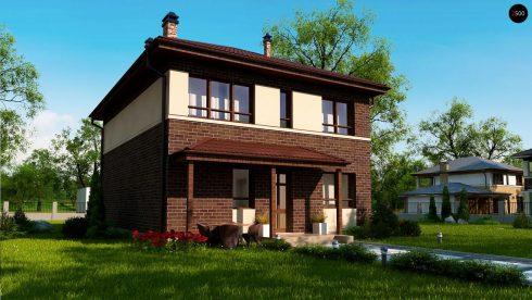 Компактный уютный дом 160 м2.