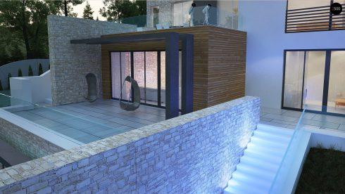 Домовладение в усадебном стиле