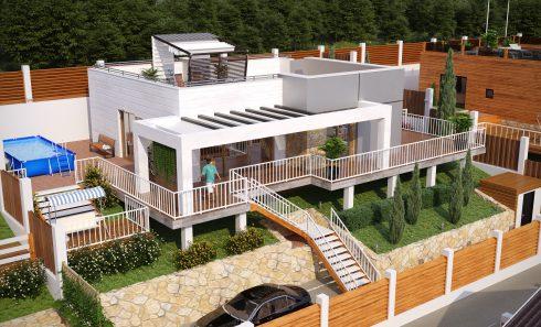 «Южные Террасы» — Дом с участком «Все включено» за 5,5 — 7,5млн