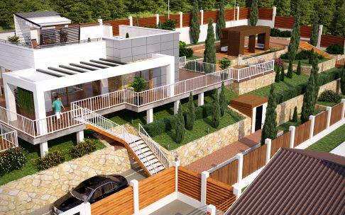 «Южные Террасы» — Дом с участком «Все включено» за 4,5 — 8,3млн